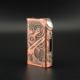 Hot Selling Rose Gold Steampunk Style box mods 2017 vaping