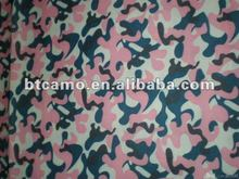 Army Oxford Pink Waterproof Camouflage Fabric
