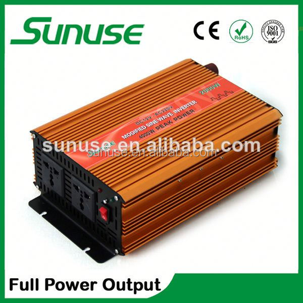 Full power 2000watts inverters with battery back up, inverter generator parts 12/24/48V to 110/220/230V