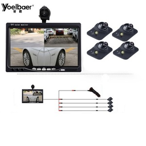 Panoramic Rearview Camera 360 Degree Parking System Auto Car Camera All Round Night Vision Waterproof Reverse Camera