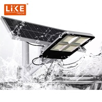 LikeTech Professional Light Solar Street 100W for garage warehouse parking lot farms