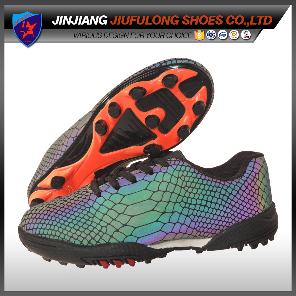 Lightweight Breathable Wear Youth Antiskid Football Shoes Brazil Soccer Cleats Outdoor Sports