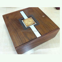High quality black wooden jewelry boxes