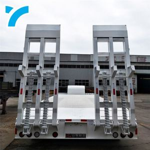 Best Price Twist Lock 3 Or 4 Axles Flatbed Trailer Frame