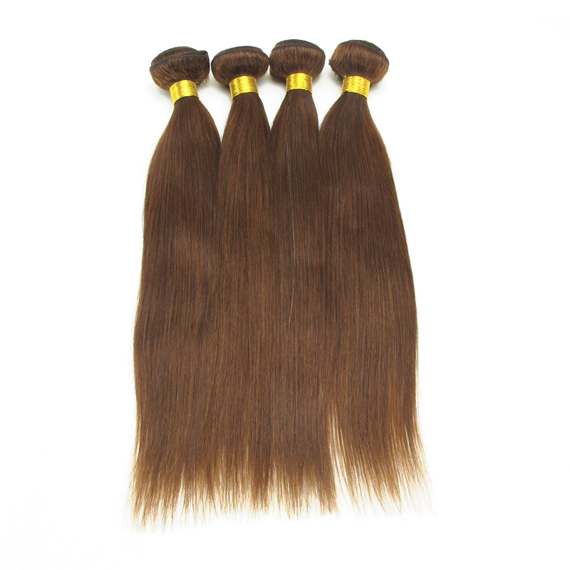 2017 new styles Cheap Wholesale Price 16 Inch Chocolate Remy Hair