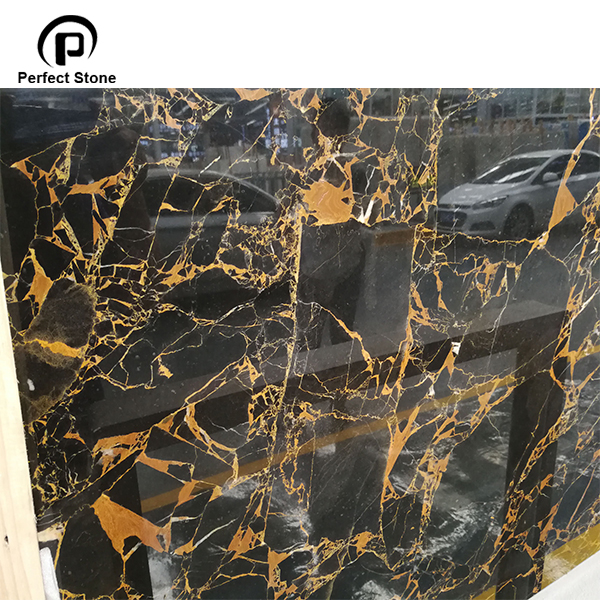 Black and gold portoro marble price polished