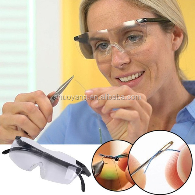 Top Sale On TV Big Vision Eyewear Big Vision Glasses Magnifying Eyewear for Magnifying Everything