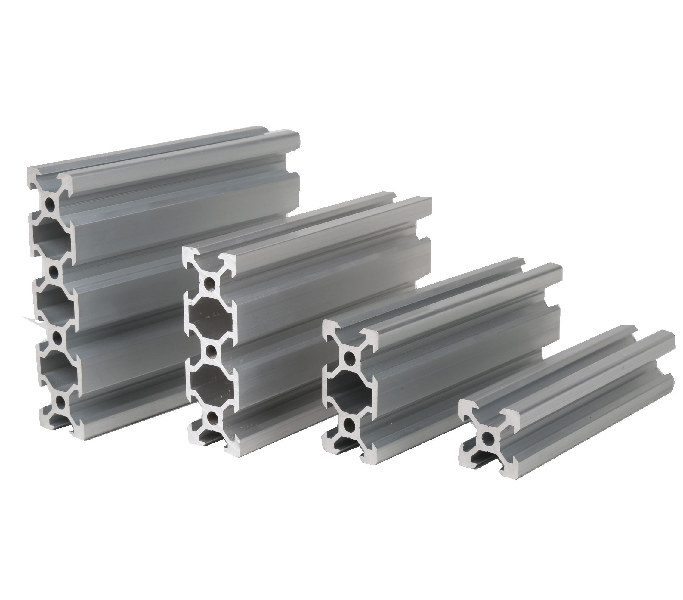V-slot profilo estruso di alluminio scanalatura v ruote
