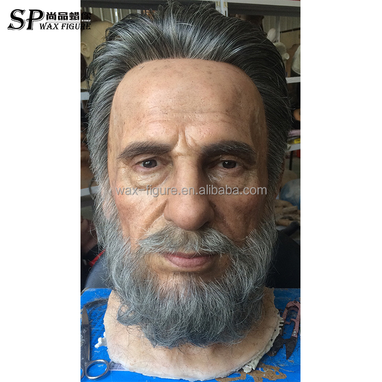 fantastic real size wax figure celebrity wax figure for sale Fidel Castro