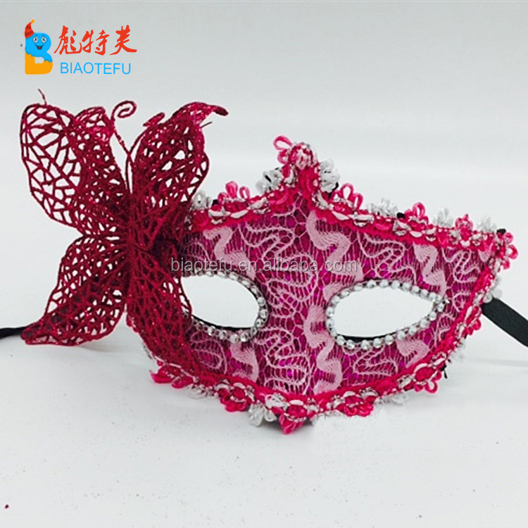 butterfly lace masquerade venice mask for party