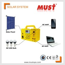 < MUST >solar system Mini Home Solar Energy Product