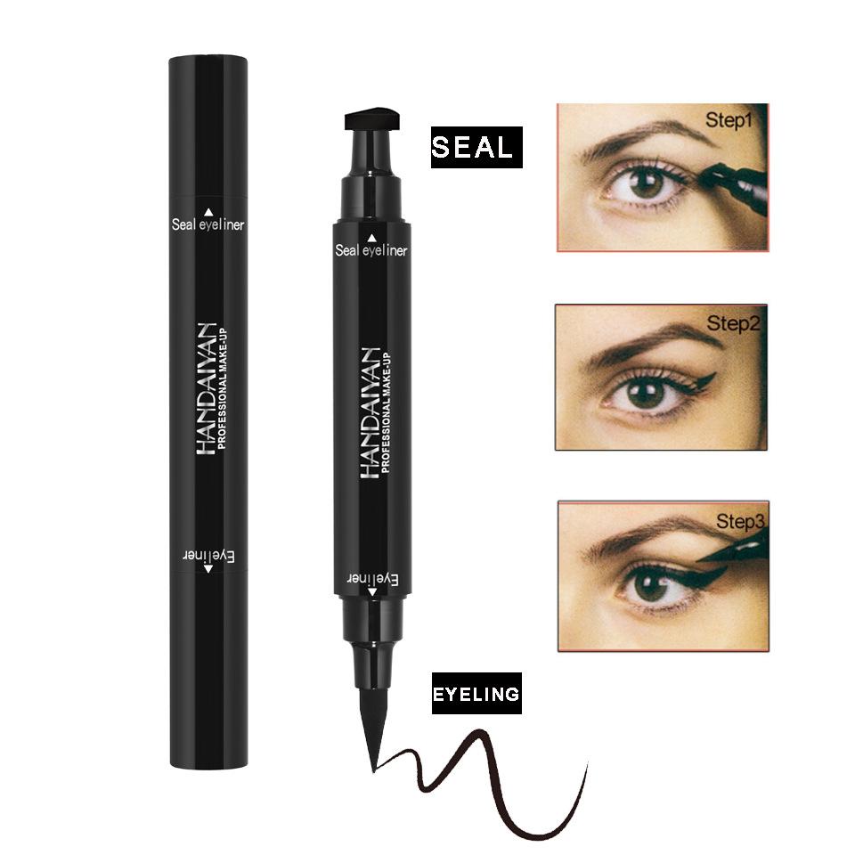 Beauty Essentials Silicone Eye Liner Stamp Eyeliner Seal For Waterproof Liquid Eyeliner Women Girls Cosmetics Eyes Makeup Tools Delineador Ojos