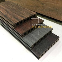 WPC Decking Oak Engineered Wood Flooring Windoor Rubber Flooring