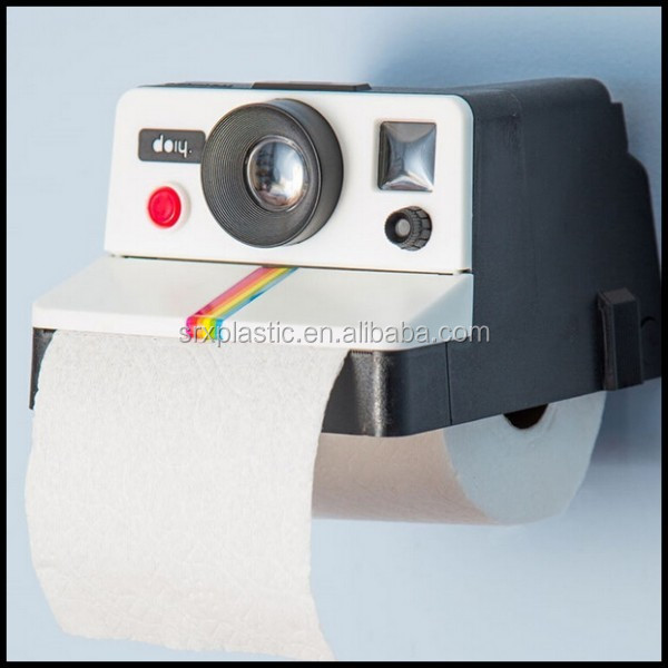Home Retro Camera Shaped Toilet Paper Tissue Roll Holder Box Covers,custom plastic tissue box container factory