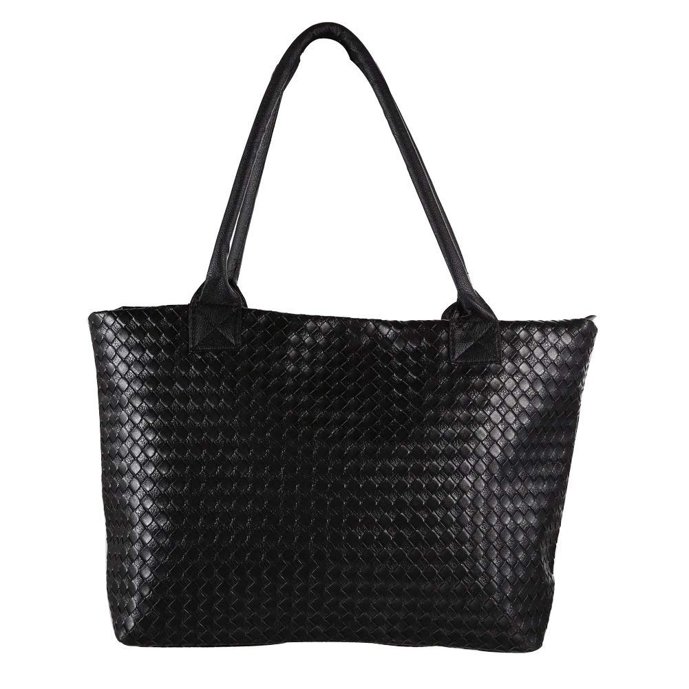 Gowind7 Women Bag Handbag Shoulder Bags Tote Purse Braided PU Leather Hobo Bag