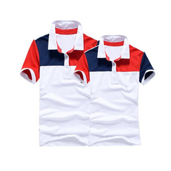 Cannda color combination dry fit sport polo shirt