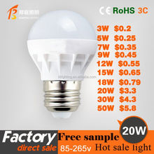 20WHot sales high bright energy saving LED bulb