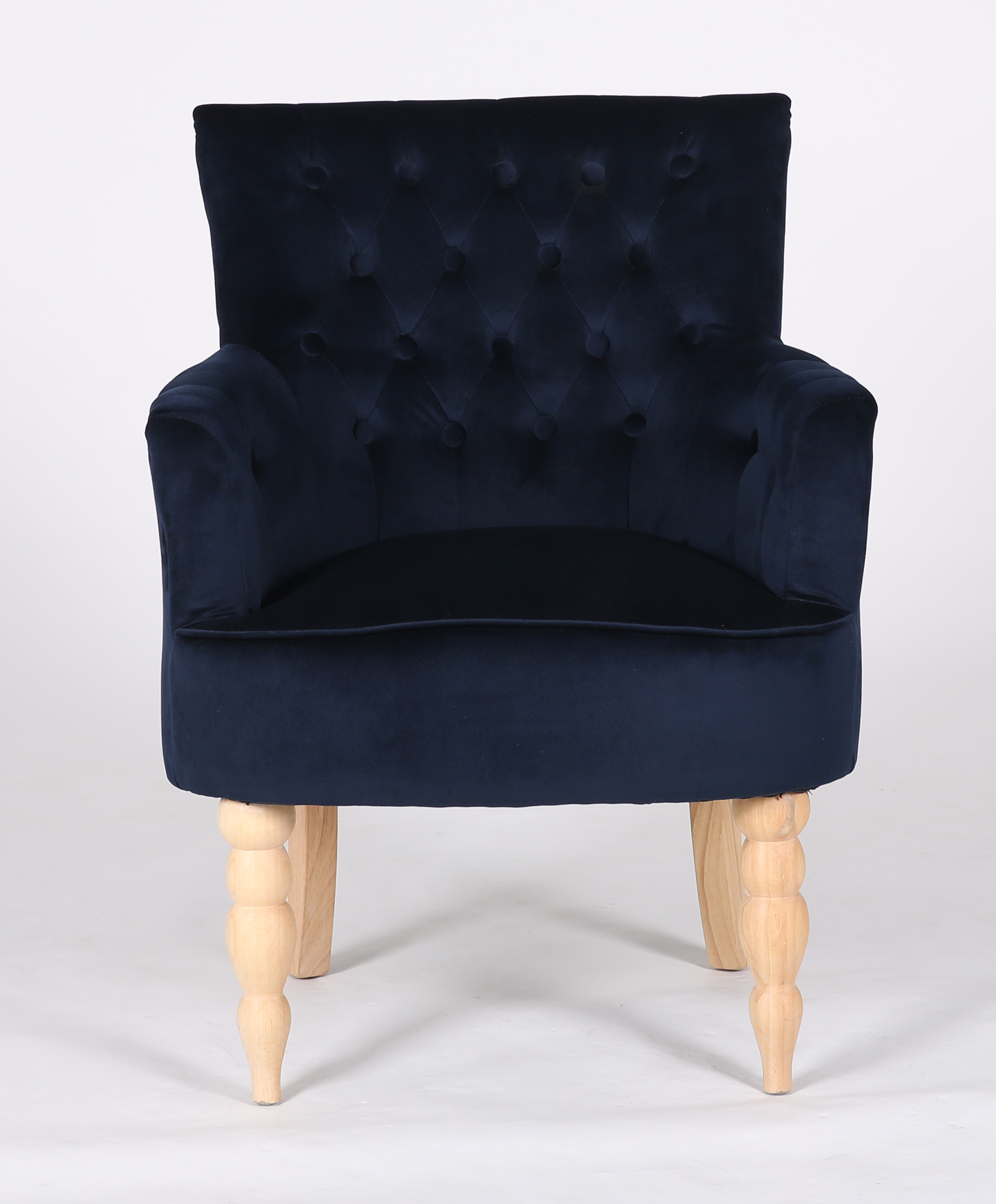 Velvet Fabric Leisure Chair Living Room Chairs Wooden Chair Navy Blue  Chairs Fabric - Buy Antique Velvet Fabric Chairs,Yellow Velvet Chair,Home  Chair ...