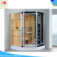 AD-978 Wholesale price sauna steam machine steam shower sauna combos far infrared sauna room