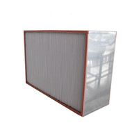 250 degrees C H13 High Temperature HEPA Box Filter for Clean Room