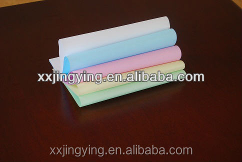 Top quality 48g CB CFB CF carbonless paper