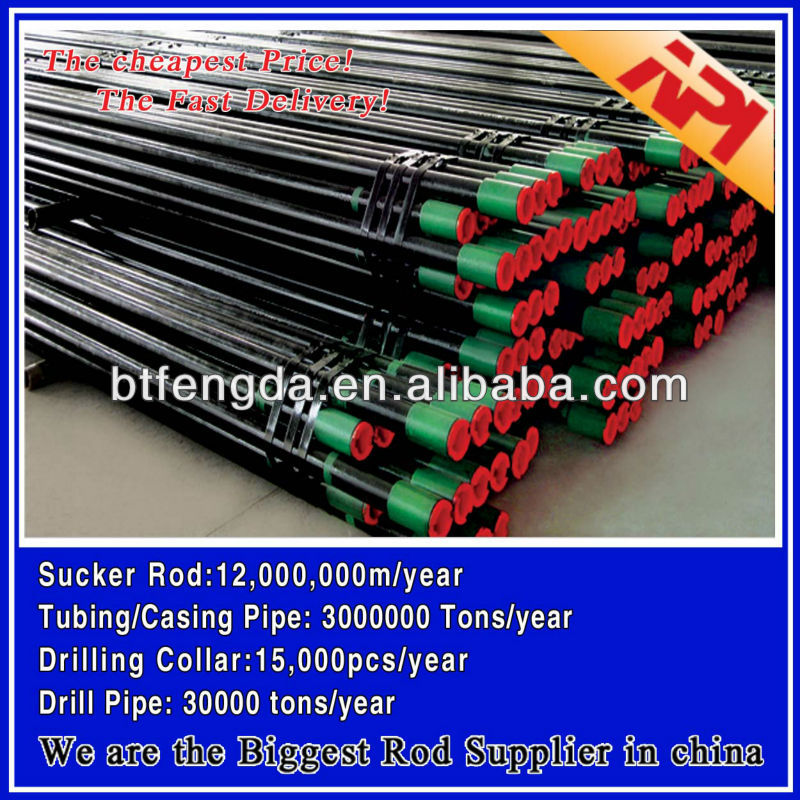 Api 5ct Seamless Petroleum Casing Pipe And Oil Tubing / Oil ...