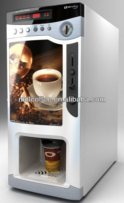 Commercial Small Instant Tea Coffee Vending Machine For Hotel Use F303v