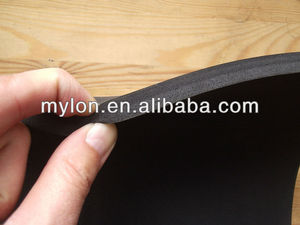 10mm EPDM Black CLOSED CELL foam sponge strip sheet