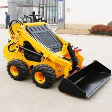 323 S mini skid steer front end loader