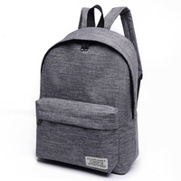 Oem hot sale lightweight travel laptop outdoor canvas backpack