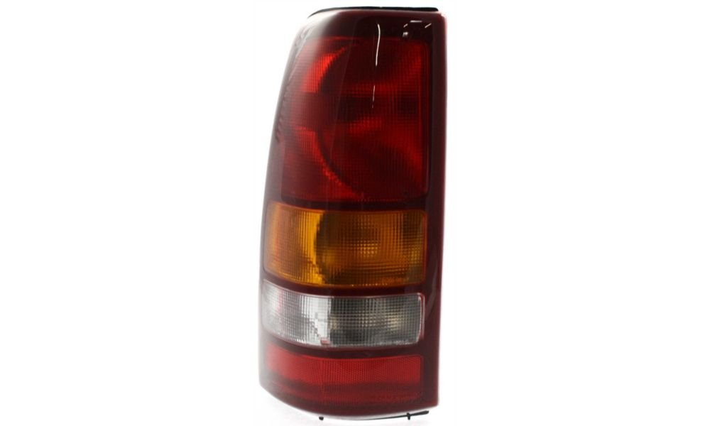 Evan-Fischer EVA15672021258 Tail Light for Chevrolet Silverado 1500/2500 99-02 Sierra 1500/2500 99-03 LH Assembly Fleetside Left Side Replaces Partslink# GM2800186