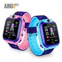 AinooMax L334 reloj watches baby cheap children tracker smart phone smartwatch q12 gps kids watch for kids children baby