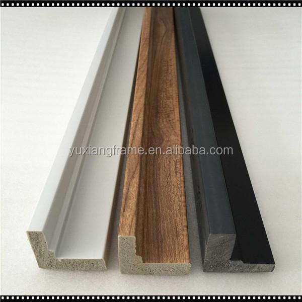 Hot Sales L Shape Wooden Black/white Shadow Box Frames Wholesale Ps ...