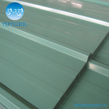 Bluescope material corrugated lowes metal roofing sheet price from China