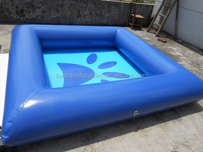 Inflatable Dog Pool With The Best Material 0 9mm Pvc