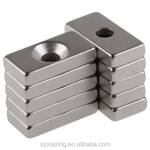 Super Strong Ring Loop Countersunk Magnet 30 x 10 mm Hole 6 mm Rare Earth Neo Neodymium neodymium magnet cylinder 6mm