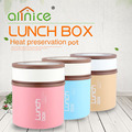 korea style hot sales stainless steel 201 thermos bento lunch box keep food warmer