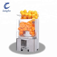 Electric Citrus Juicer/Commercial Automatic Stainless Steel Orange Juice Making Machine