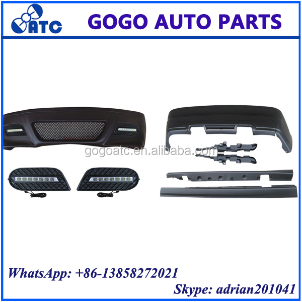 FOR BMW3 E46 / M3 1998-2005 FRONT AND REAR BUMPER FRONT AND REAR BODY KITS