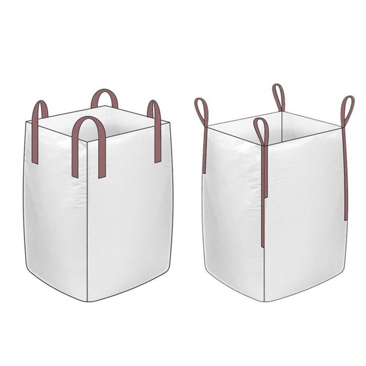 बड़े क्षमता पीपी बुना सीमेंट रेत बड़ा जंबो बैग के लिए रेत बोरियों