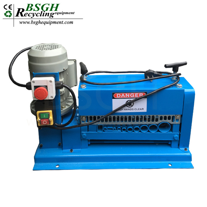 Low loss low price high profit BS-015 copper recycling machine waste copper wire stripper machine with high adaptability