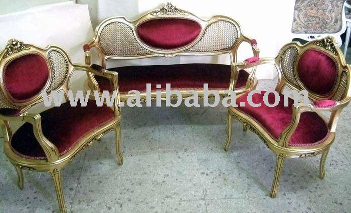 Louis Xv Small Salon Set