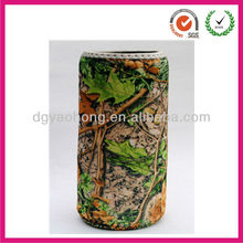Great hit full flower printing neoprene can coolers (factory)