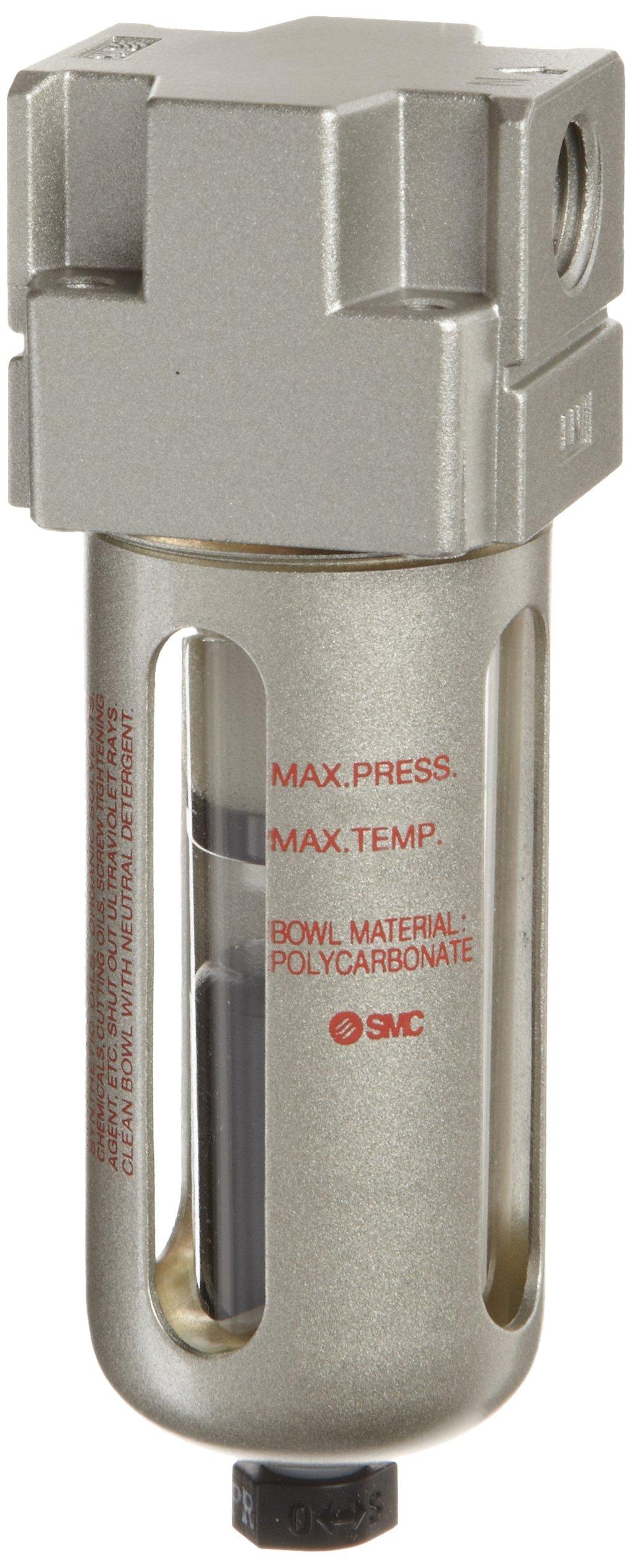 SMC AFM40P-060AS Mist Separator Filter Element for AFM40 Removes Oil Mist 0.3 Micron