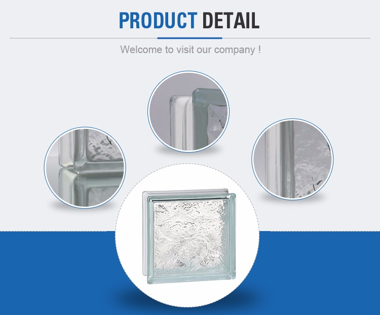 China Supplier Circle 90mm Blue Cloudy Glass Block Manufacturers ...