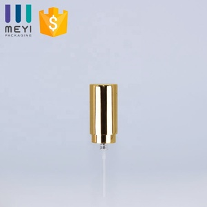 15/400 Crimp spray pump with aluminum cap and collar for perfume bottle