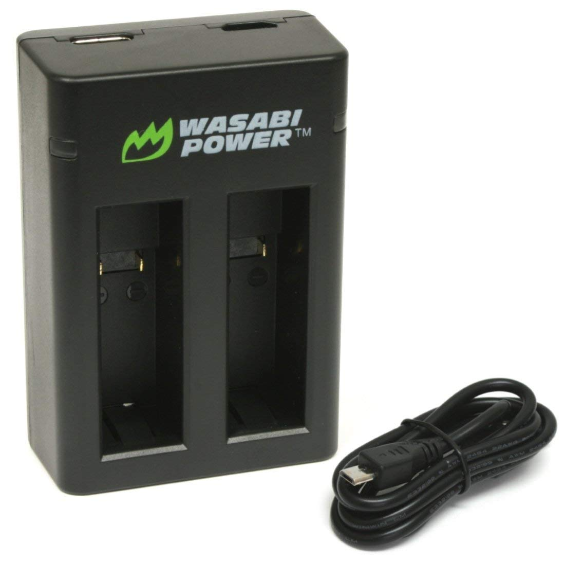 Wasabi Power Dual USB Battery Charger for GoPro Fusion and GoPro ASBBA-001