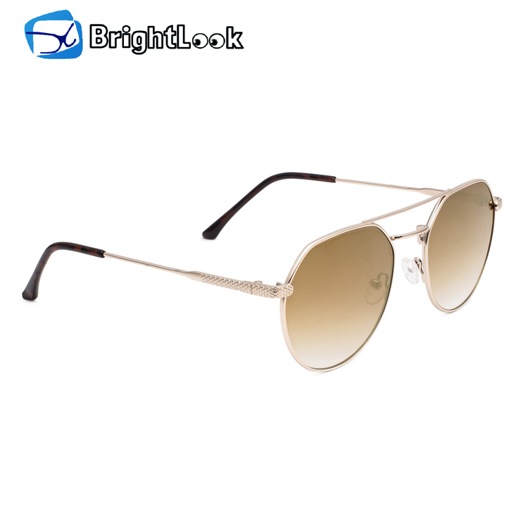 Fashion polarized metal trendy sunglasses, china wholesaler sunglasses