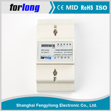 dc kwh meter single phase prepayment energy meter for energy consumption