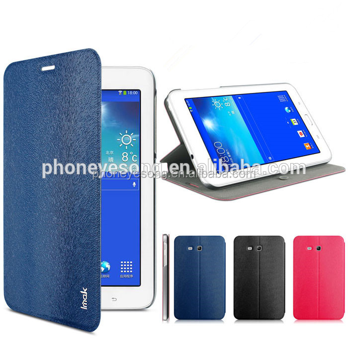 for Samsung Galaxy Tab 3 IMAK Stand Leather Case